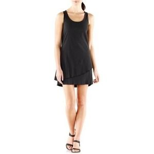 Toad & Co Mallorca Dress Black Travel Tank Medium